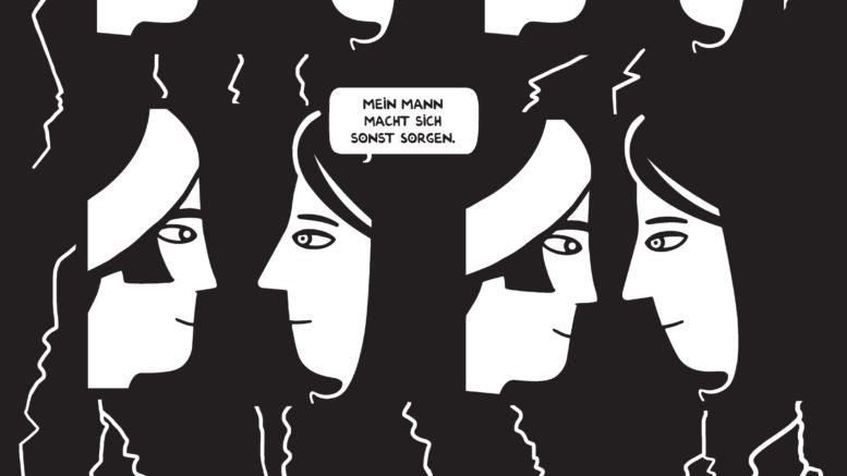 Zeichnung von Zeina Abirached